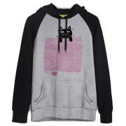Moletom Raglan TodaTeen Funny Cat