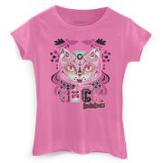 Camiseta Feminina TodaTeen Egyptian Cat