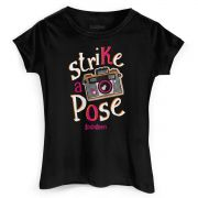 Camiseta Feminina TodaTeen Strike a Pose