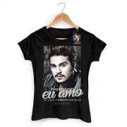 Camiseta Feminina Luan Santana Tanto Faz 2