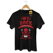 Camiseta Masculina 89FM A Radio Rock We Rock Sampa Modelo 2