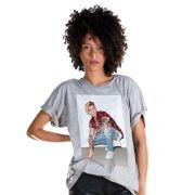 Camisetão Feminino Justin Bieber Flannel Photo