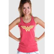 Regata Premium Feminina Wonder Woman