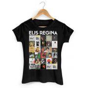Camiseta Feminina Elis Regina Capas 2