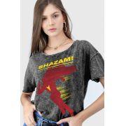 Blusa Feminina Shazam Name