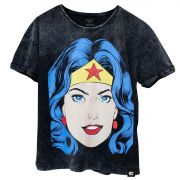 Blusa Feminina Wonder Woman Pop Culture Oficial