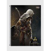 Caderno Assassin's Creed Bayek 1 Matéria