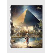 Caderno Assassin's Creed Pirâmide 1 Matéria
