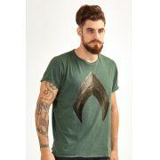 Camiseta Aquaman Logo Filme Masculina Oficial