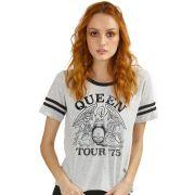 Camiseta Athletic Feminina Queen Tour 75'