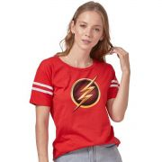 Camiseta Athletic Feminina The Flash SERIE Logo Gold