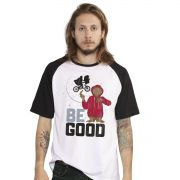 Camiseta E.T. Be Good Raglan Masculina Oficial