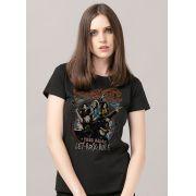 Camiseta Feminina Aerosmith Let Rock Rule Photo
