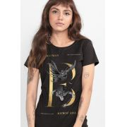 Camiseta Feminina Batman 80 Anos Nêmesis