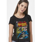 Camiseta Feminina Batman Capa Imortalidade