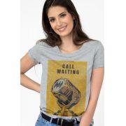 Camiseta Feminina Batman Chamada em Espera