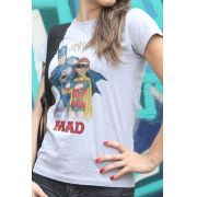 Camiseta Feminina Batman e MAD 2