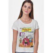 Camiseta Feminina Capa Batman Rainbow