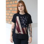Camiseta Feminina Far Cry 5 Cult Flag