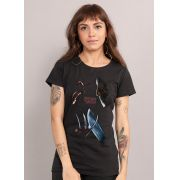 Camiseta Feminina Freddy VS Jason