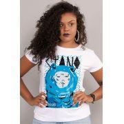 Camiseta Feminina Fresno Ciano