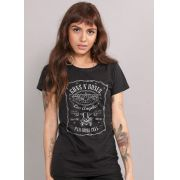 Camiseta Feminina Guns N´ Roses Paradise City