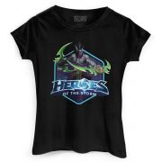 Camiseta Feminina Heroes Of The Storm Illidan