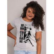 Camiseta Feminina John Coltrane Smoke