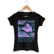 Camiseta Feminina Madonna US Tour