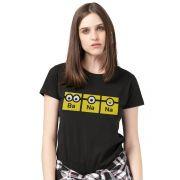 Camiseta Feminina Minions Banana