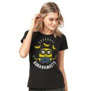 Camiseta Feminina Minions Bananamaste