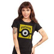 Camiseta Feminina Minions Olho