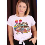 Camiseta Feminina Nózinho Turma da Mônica 60's
