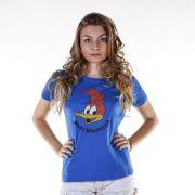 Camiseta Feminina Pica-Pau Face