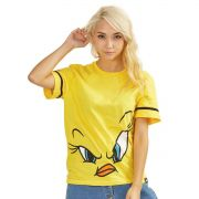 Camiseta Feminina Piu-Piu Face Oficial