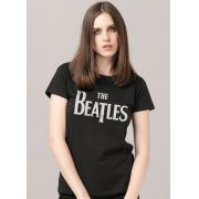 Blusa Feminina The Beatles Classic Logo