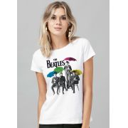 Blusa Feminina The Beatles Umbrella Colors