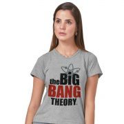 Camiseta Feminina The Big Bang Theory Logo