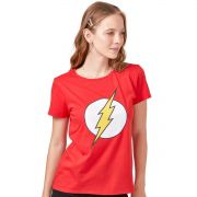 Camiseta Feminina The Flash Logo