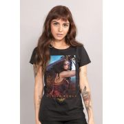 Camiseta Feminina Wonder Woman Warrior Graceful