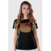 Camiseta Hello Kitty Print Fuzzy