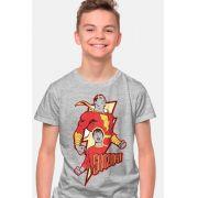 Camiseta Infantil Shazam Hero