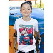 Camiseta Infantil Superman American Way