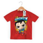 Camiseta Infantil Superman Kid Oficial