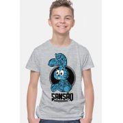 Camiseta Infantil Turma da Mônica Sansão Tatuado