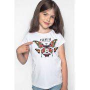 Camiseta Infantil Wonder Woman Liberté