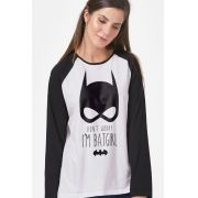 Camiseta Manga Longa Feminina I'm Batgirl
