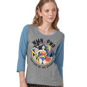 Camiseta Manga Longa Feminina WMN PWR