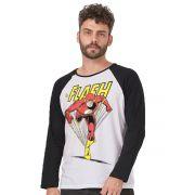 Camiseta Manga Longa Masculina The Flash Originals