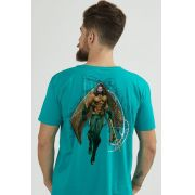 Camiseta Masculina Aquaman Movie Character